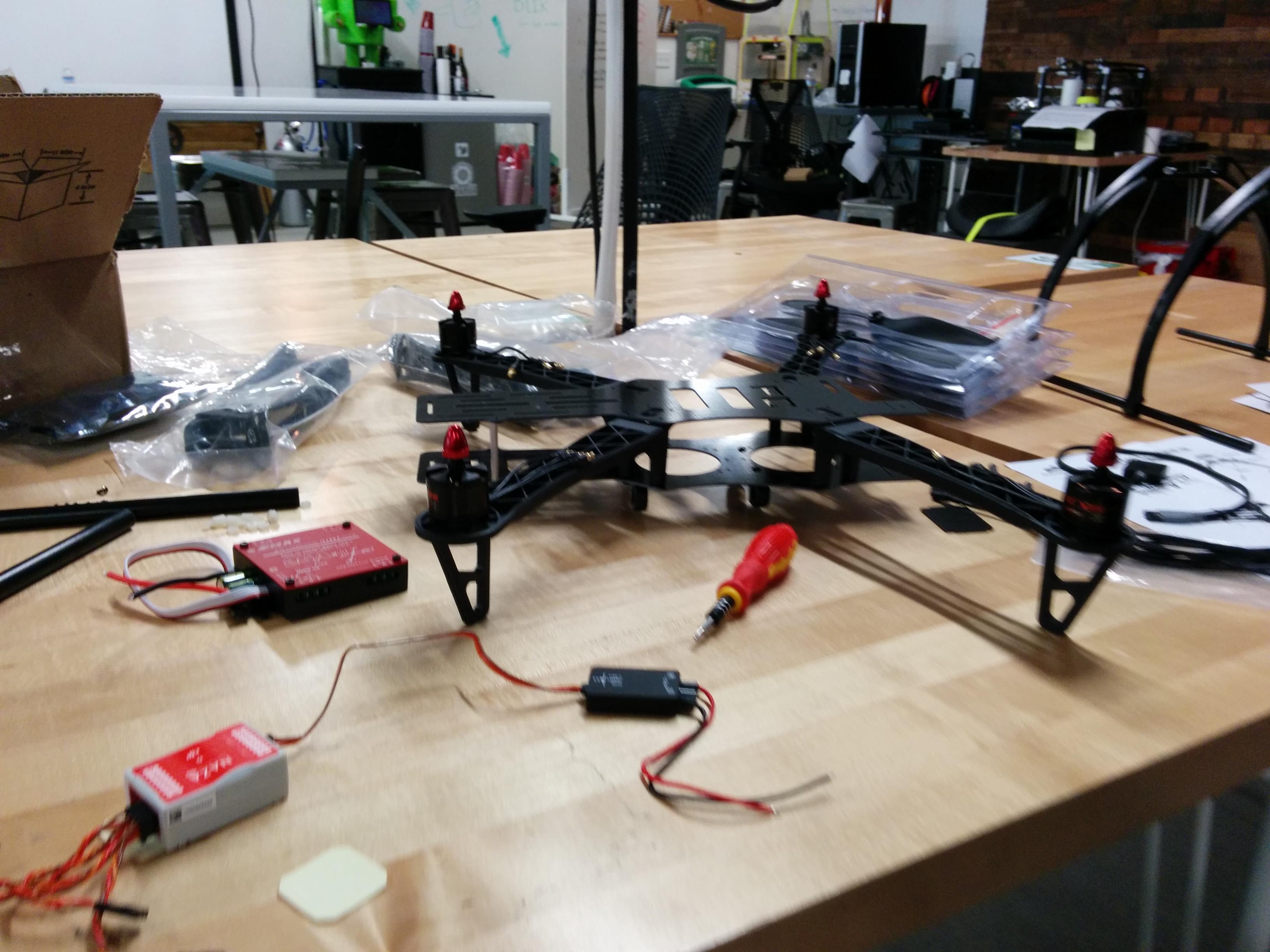 Installing motors